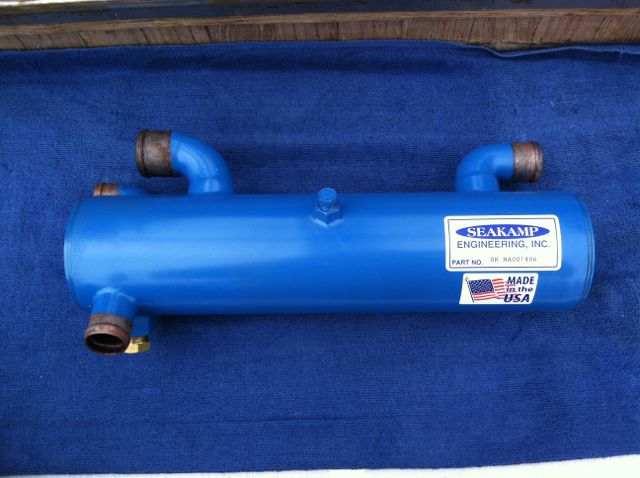 New Seakamp heat exchanger