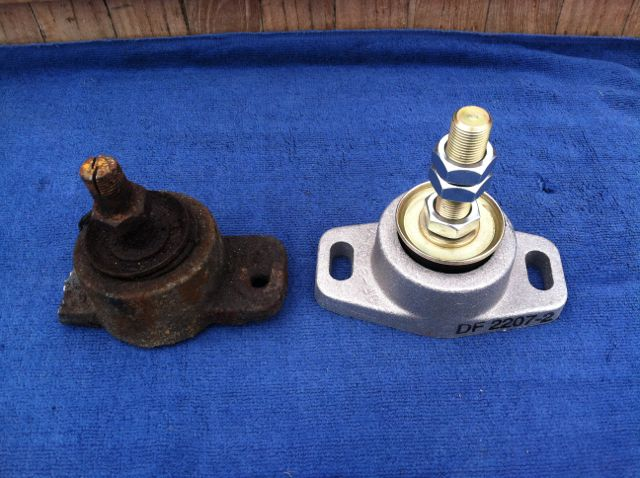 Old & New engine mounts